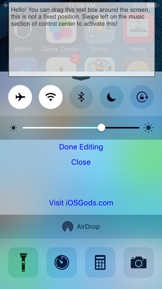 CCNotes tweak