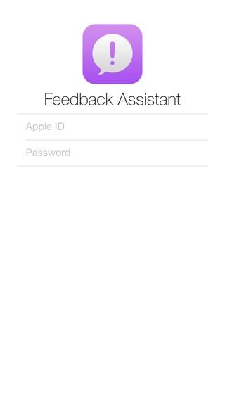 Feedback Assistant iOS