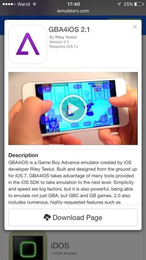 Install GBA4iOS on iOS 10