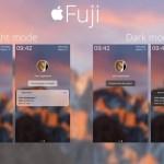 Fuji LockHTML Theme Adds macOS Inspired Lockscreen To iPhone