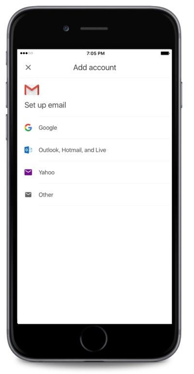Gmail app iOS beta
