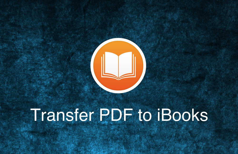 Cant Pdf To Ibooks