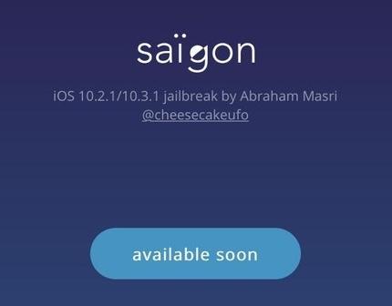 Saïgon Jailbreak iOS 10