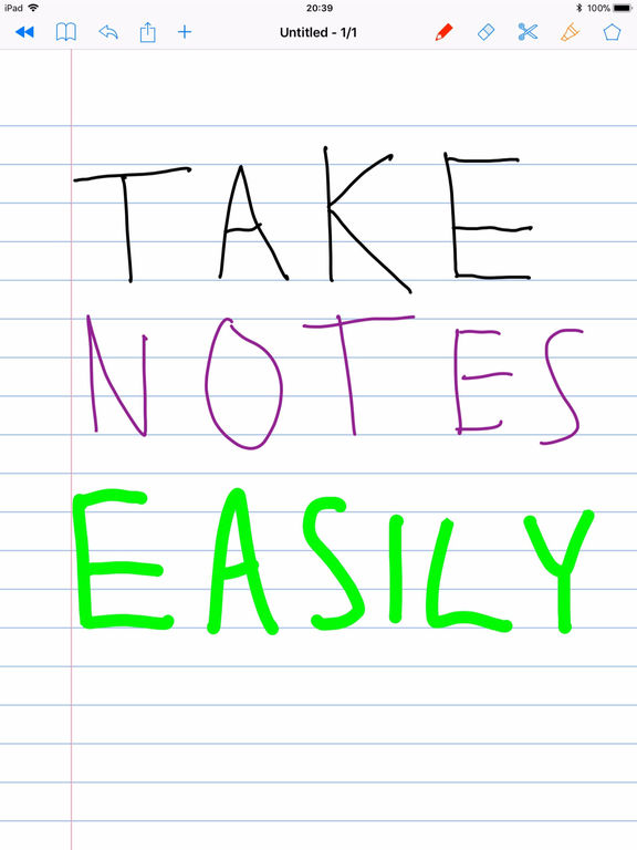 SchoolNotes for Apple Pencil