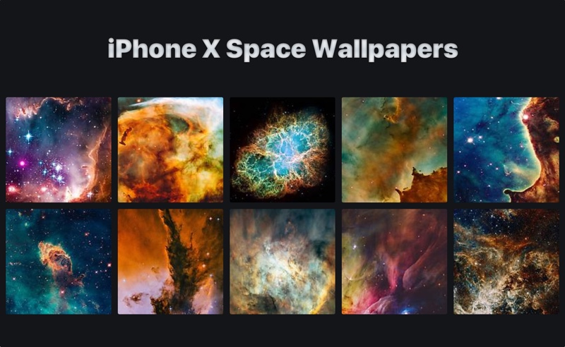 10 Space Wallpapers For IPhone X You Should Download (Ep