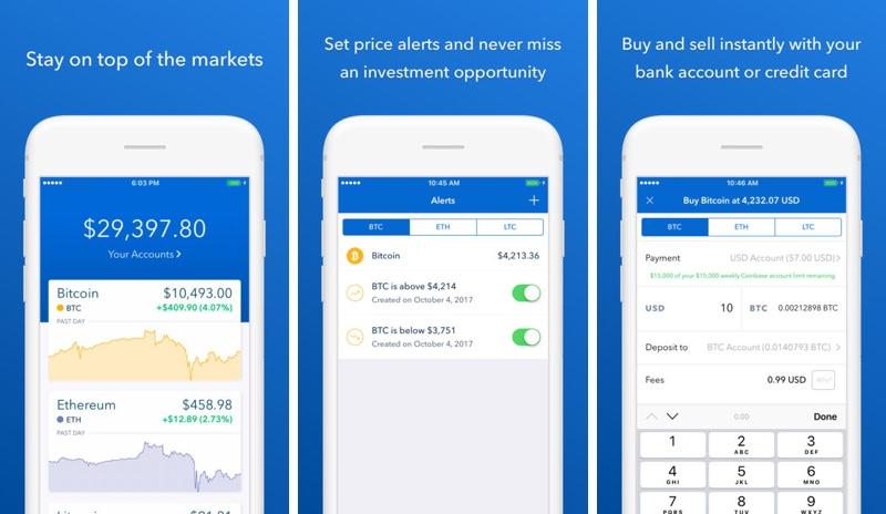 Coinbase App Iphone