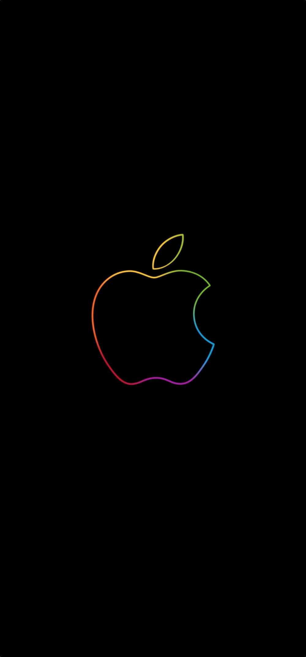 b1efb3eb1c2 Download Apple Store Wallpapers Featuring The Colorful Apple Logo ...