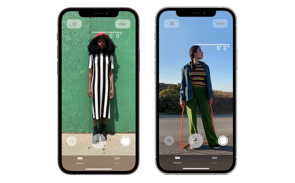 How To Use iPhone 12 Pro To Measure Person's Height - iOS ...