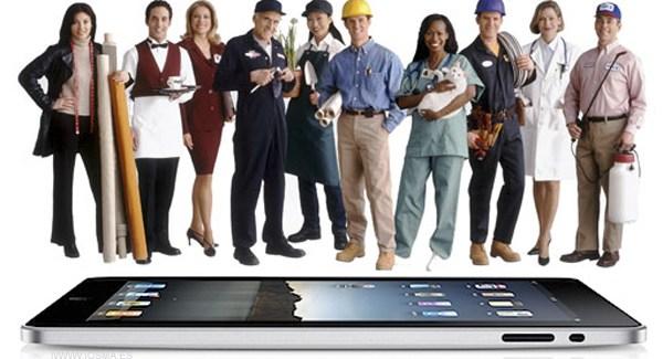 El iPad cuadriplicó su uso en las Pymes en 2011