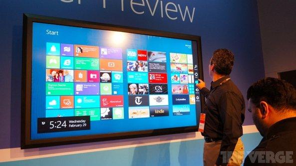 Microsoft tienes planes de vender un Tablet de 80 pulgadas