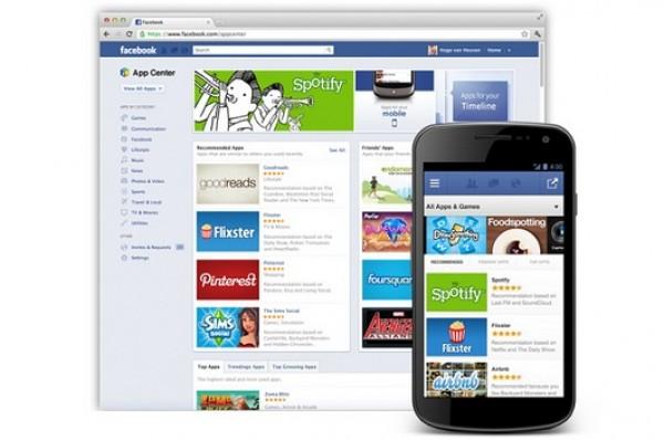 Facebook se apunta a las App Store