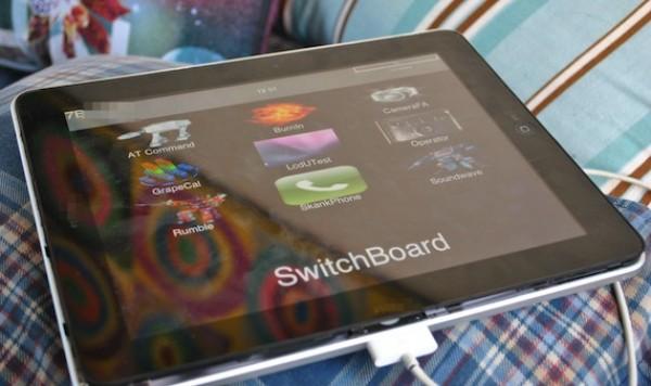 Prototipo de iPad con dos conectores en eBay