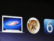 Mountain Lion, Mac Retina, iOS 6
