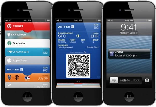 asi mostrara la informacion Passbook en iOS 6
