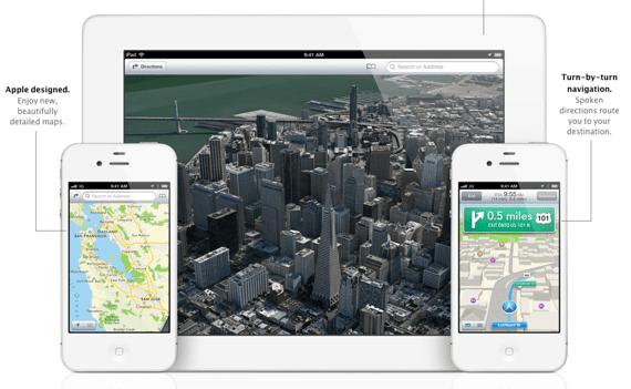 Como instalar mapas de iOS 6 en iPhone 4 y anteriores