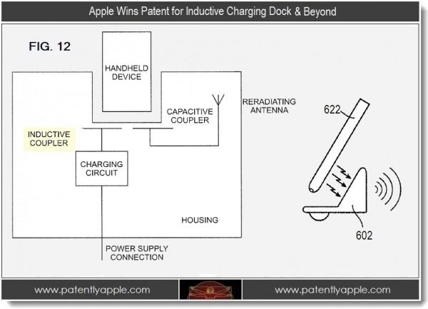 El iPhone 5 podría cargarse por inducción