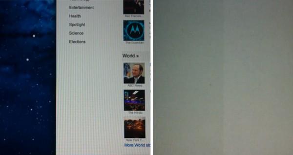 Problemas con la pantalla retina del MacBook Pro