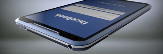 Facebook Phone del diseñador Michal Bonikowski jack