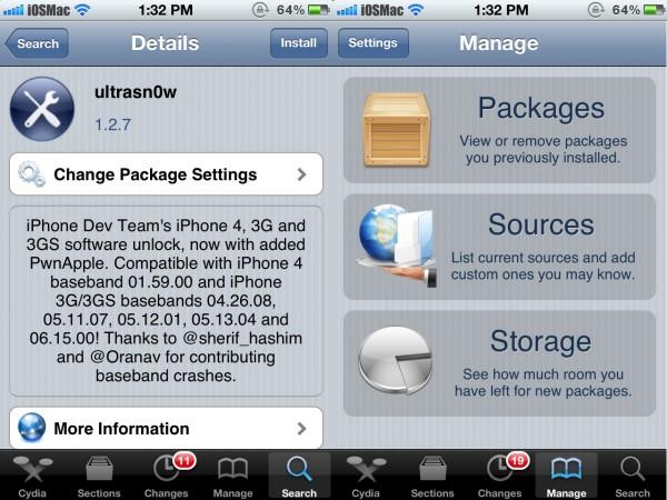 Actualización de Ultrasn0w, compatible con iOS 5.1.1