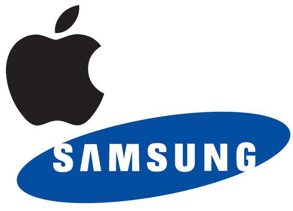 Apple-Samsung-Logos