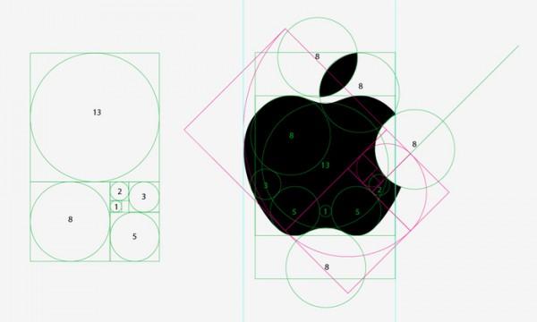 El logo de Apple y la sucesión de Fibonacci