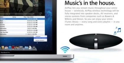 nueva actualización AirPlay