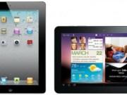 apple iPad, samsung galaxy tab