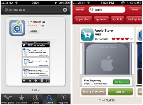 App Store mejorada en iOS 6 gracias a la compra de Chomp