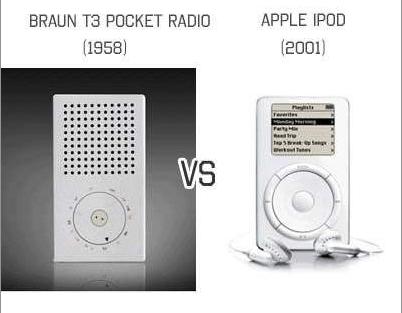 ¿Será Braun la inspiración de Apple?