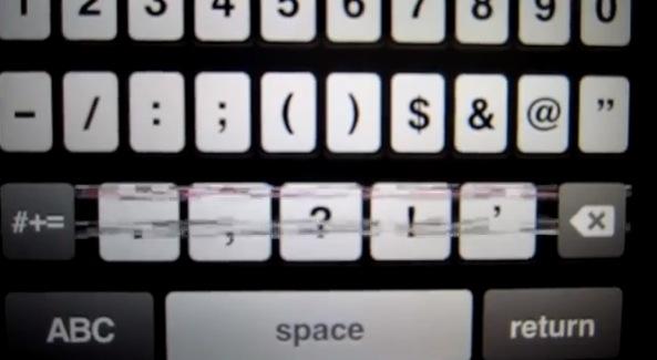 problemas teclado del iphone 5