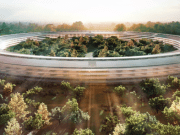 campus de Apple en forma de nave espacial