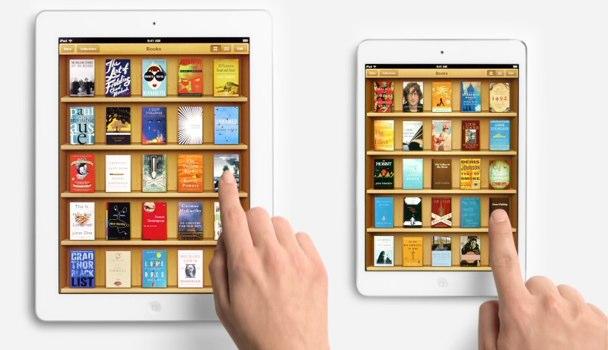 anuncios publicitarios del iPad mini