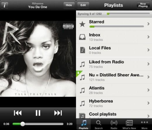 Spotify para iPhone 5
