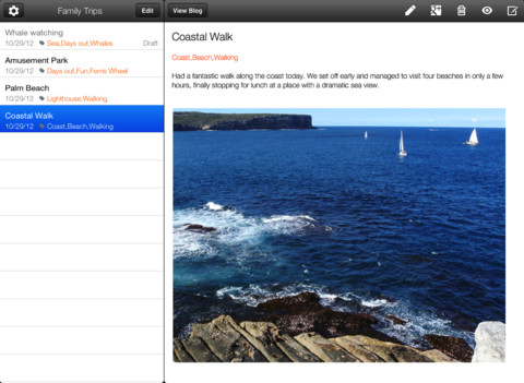 Blogger iOS ya es compatible con el iPad