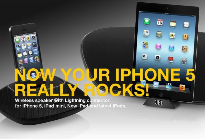 Dock para iPhone 5, nueva base Lightning