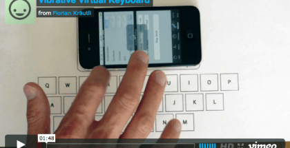 teclado virtual iphone