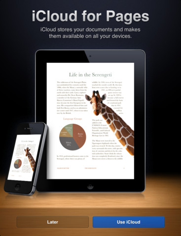 iWork, Pages 1.7