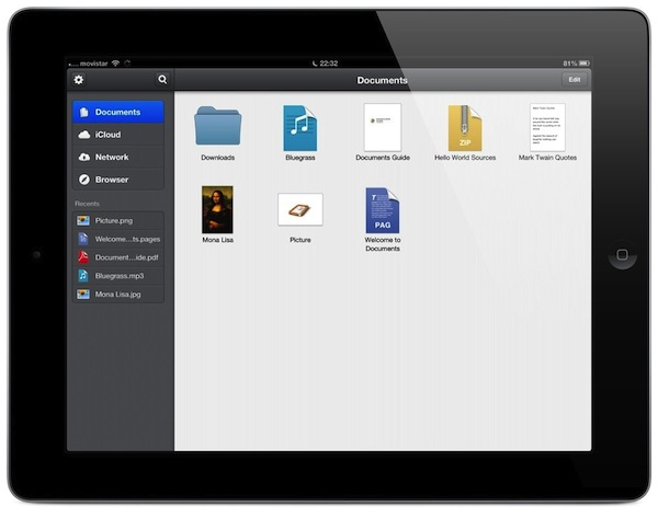 Documents-para-iPad