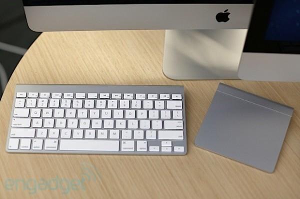 nuevo iMac 2012  teclado raton y trackpad
