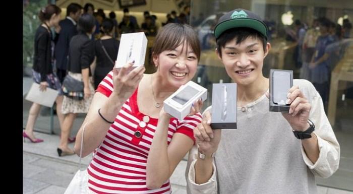Apple lidera el mercado en Japón.