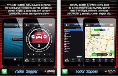 Radar Zapper IPad HD ya está disponible en la AppStore