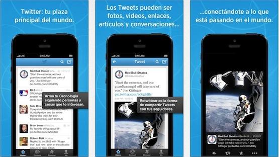 twitter para iPhone