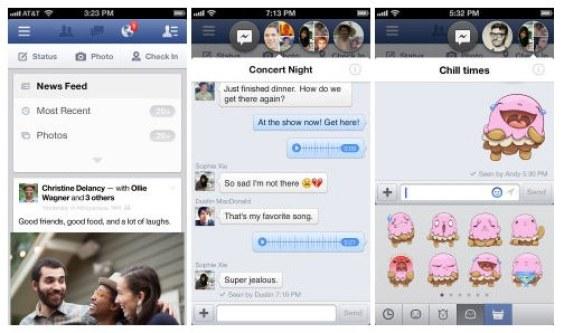 Facebook iOS 6.2