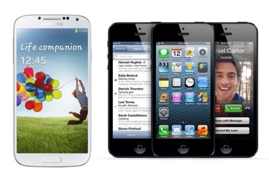 iphone 5 resiste al Galaxy S4