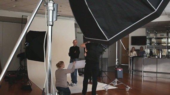 Sesión de fotos steve jobs time