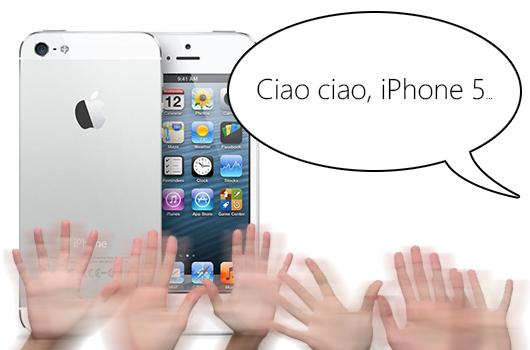 iPhone 5 dejara de venderse