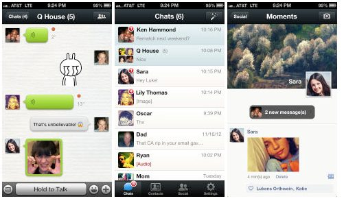 weChat-iphone