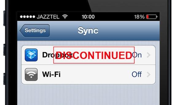 1Password 3 dejará de sincronizar con Dropbox en septiembre.