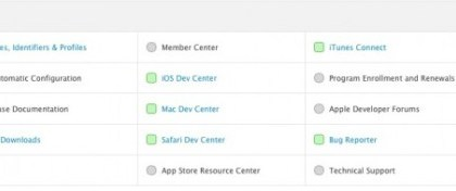 apple-corrige-dev-center