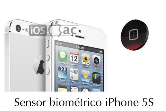 sensor biométrico iphone 5